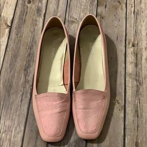 Enzo Angiolini Pink Leather Shoes
